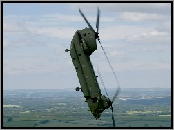 Akrobacje, CH-47, Boeing, Chinook
