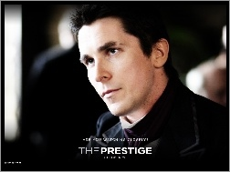 aktor, Christian Bale, The Prestige, twarz