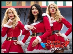 Kelly Aldridge, Alia Shawkat, Deck The Halls, Sabrina Aldridge