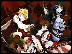 Alice, Raven, Oz, Pandora Hearts, Gilbert