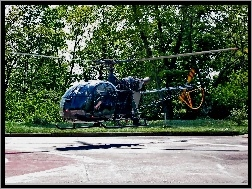 Alouette II, Helicopters, Brazos, AS-313