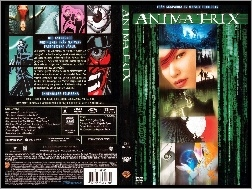 dvd, Animatrix, okładka