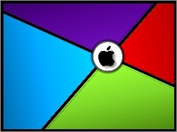 Logo, Apple, Czarne