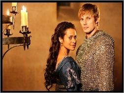 Bradley James, The Adventures of Merlin, Przygody Merlina, Angel Coulby