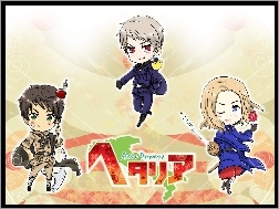 Axis Powers Hetalia, Postacie