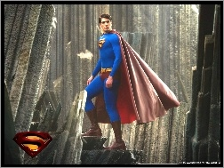 beton, Brandon Routh, Superman Returns, peleryna