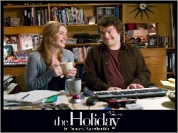 biuro, Jack Black, Holiday, Kate Winslet