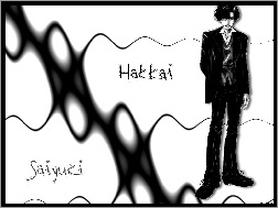 black and white, Saiyuki, hakaii