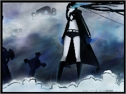 Black Rock Shooter, Cmentarz