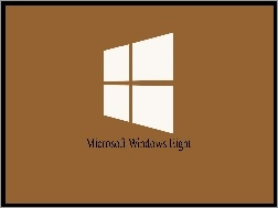 Brązowe, Eight, Windows, Microsoft, Tło