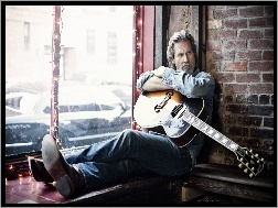 Jeff Bridges, Gitara