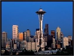 Space Needle, Zjednoczone, Stany, Seattle