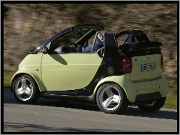 Cabrio, Pastelowy, Smart Fortwo