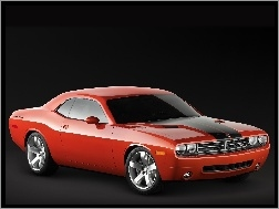 Car, Dodge Challenger, Muscle