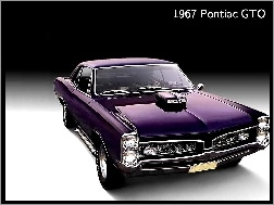 Car, 1967, Pontiac GTO, Muscle
