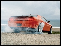 Dodge Challenger, Burnout