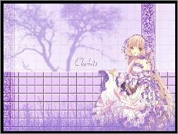 Chobits, fiolet