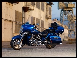 Chromy, Niebieska, Yamaha Royal Star Venture