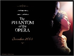 napisy, Gerard Butler, Emmy Rossum, Phantom Of The Opera, ciemno