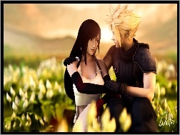 Cloud, Final Fantasy, Tifa Lockhart