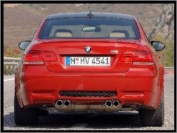 Coupe, Tył, BMW M3
