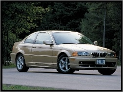 Coupe, BMW 3, Złote, E46