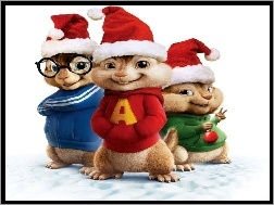 Mikołaja, Alvin and the Chipmunks, Alvin i wiewiórki, Czapki