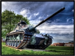 HDR, M 60, Czołg, Patton