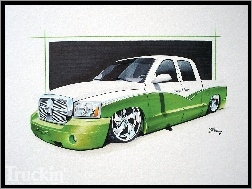 Dodge Dakota, Rysunek