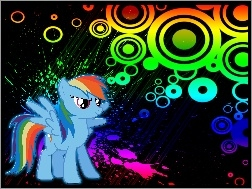 RainBow Dash, My Little Pony, Przyjaźń To Magia