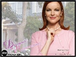 dom, Marcia Cross, Desperate Housewives, korale