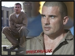 Dominic Purcell, kombinezon, Prison Break, wieża