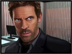 Grafika, Dr House, Hugh Laurie