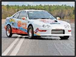 Drag, Acura Integra, Intercooler