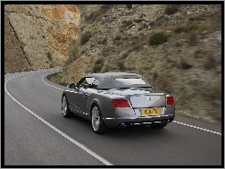 Droga, Bentley Continental GTC, Bagażnik