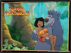 The Jungle Book 2, Baloo, Mowgli, Księga Dżungli 2