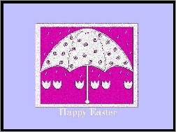 Happy Easter, Parasol