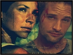 Evangeline Lilly, Filmy Lost, Josh Holloway