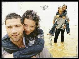 mokrzy, Evangeline Lilly, Filmy Lost, Matthew Fox