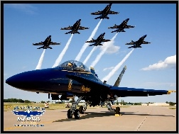 F/A-18, Blue Angels, Boeing