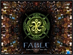 Fable, logo, tunel, obrazy