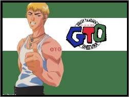 logo, facet, biceps, Great Teacher Onizuka, gto