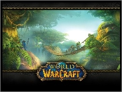 fantasy, most, World Of Warcraft, dżungla