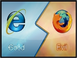 Firefox, Internet Explorer, Vs