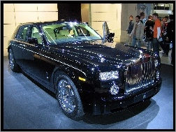 Genewa, Rolls-Royce Phantom, Salon