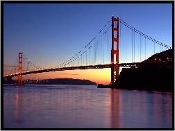Golden Gate, Wiszący, San Francisco, Most