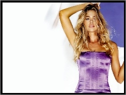 gorset, Denise Richards, fioletowy