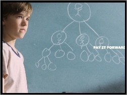 graf, Haley Joel Osment, Pay It Forward, tablica