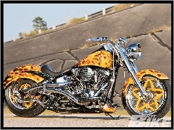 Harley Davidson Fat Boy, Custom