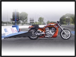 Race, Harley Davidson Screamin Eagle V-Rod, Drag